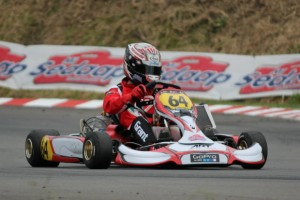 2012 Mi Sedaap KZ2 class CIK Trophy of NZ trophy winner Ryan Grant (Photo: Andre Elliot)