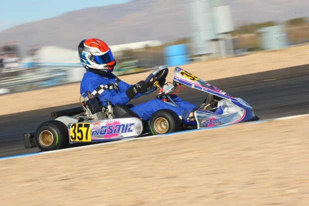 Phillip Arscott stomped the Senior Max category on Sunday (Photo: Sean Buur - Go Racing Magazine)
