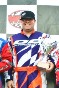 Brian McHattie - EKN Driver of the Month - December 2012 (Photo: Sean Buur - Go Racing Magazine)