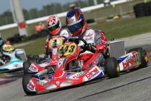 Swiss driver Kevin Lüdi edged out defending Rotax champ Ben Cooper for the top spot in both DD2 sessions (Photo: Ken Johnson - FWT)