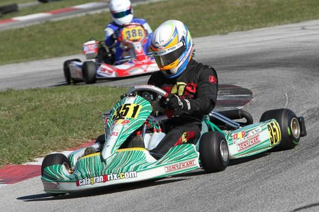Nick Neri was one half of the OGP sweep in Senior Max qualifying (Photo: Ken Johnson - FWT)