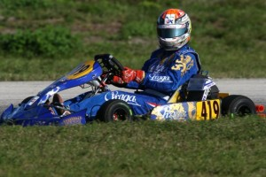 Di Leo was on the podium both days in Florida after a switch to DD2 (Photo: INTL-KartingMedia.com)