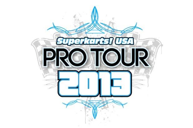 Superkarts! USA Pro Tour 2013 logo SKUSA