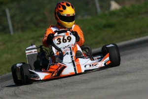 Schippers was impressive and on the front row in his senior debut (Photo: INTL-KartingMedia.com)