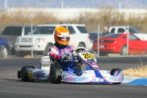 No one could match the pace set by Luke Selliken in Junior Max in round one (Photo: Sean Buur - Go Racing Magazine)