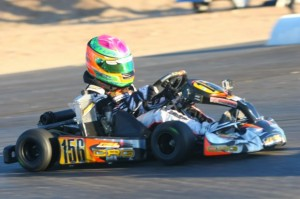 Horatio Fitz-Simon went from last to first in the Mini Max Final for the victory (Photo: Sean Buur - Go Racing Magazine)