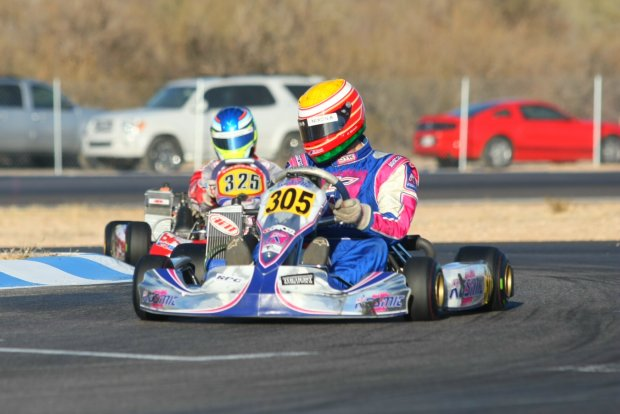 Parker McKean drove away with the victory in Senior Max (Photo: Sean Buur - Go Racing Magazine)