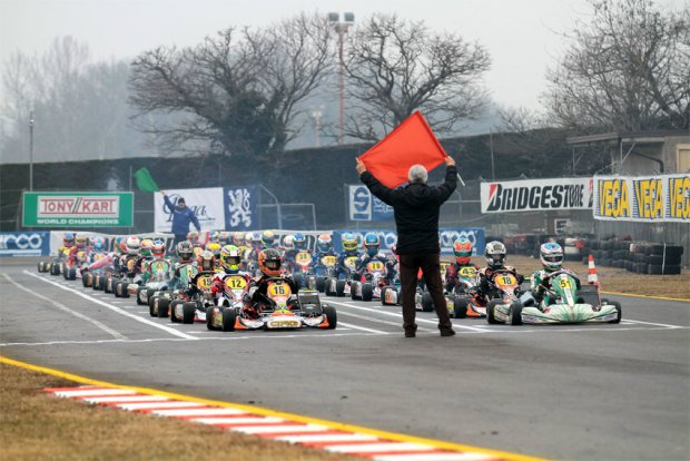 KZ2 field prepares for start in 2012 Winter Cup