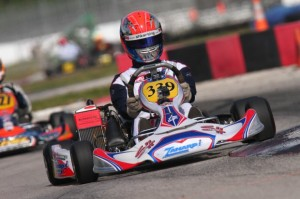 Steven Szigeti will be back in his SH-Zanardi package taking on the Rotax Senior class in Homestead (Photo: SHKarting.com)