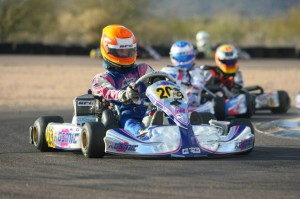 Luke Selliken drove his way to a second Junior Max victory on the season (Photo: Sean Buur - Go Racing Magazine)