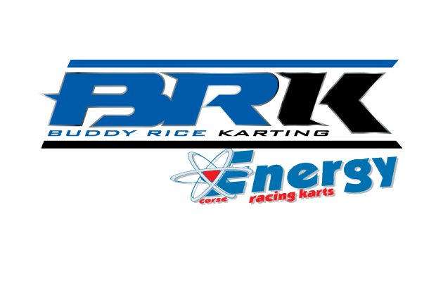 Buddy Rice Karting logo