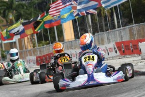 Thomas Issa bagged a second victory in Junior Max (Photo: Ken Johnson - Florida Winter Tour)