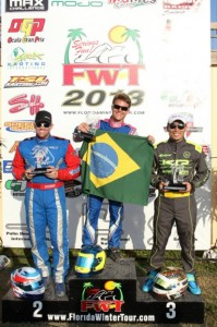 Brazilian Leonardo Nienkotter scored the win in Masters Max Sunday (Photo: Ken Johnson - Florida Winter Tour)