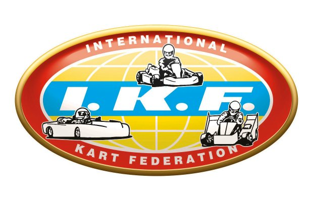 IKF International Kart Federation logo