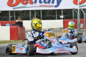Dorian Boccolacci scored the victory in KF (Photo: Press.net Images)
