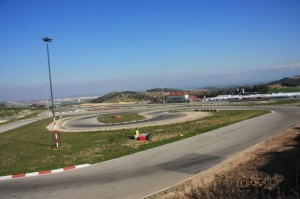 The karting track of Campillos (Photo: Jennie Wade)