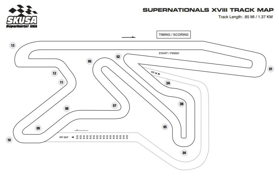 SKUSA SuperNationals XVIII-Track