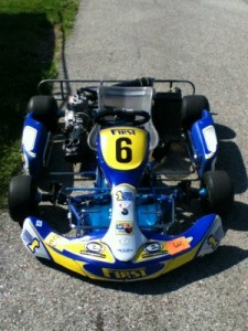 My ride for the weekend in Grattan...haven't seen a no.6 on a First Kart since Brett Smrz