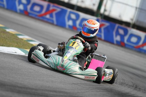 shley Rogero made her Senior debut with a victory at the opening round of the FKCS Rok Cup USA event in Orlando (Photo: rokcupusa.com)