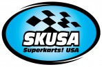 SKUSA Superkarts! USA logo