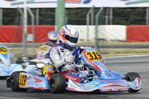 Canadian Parker Thompson has been impressive in his first two WSK events this season (Photo: Press.net Images)