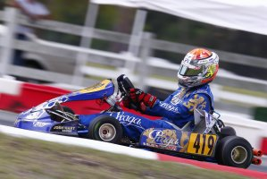 Di Leo is now heading to his sixth Rotax Grand Final in the fall (Photo: goodwoodkartways.com)