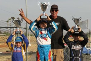 Fleming Racing Engines powered drivers sweep the podium at PKC California (Photo: DromoPhotos.com)