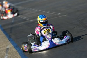 Rocha swept the entire weekend at the Rotax Challenge of the Americas finale to claim the championship (Photo: Sean Buur - Go Racing Magazine)