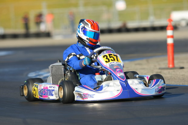 Arscott won three races, including the final round of the Rotax COTA to earn the championship and Team USA spot (Photo: Sean Buur - Go Racing Magazine)