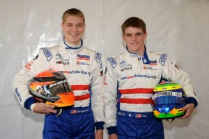Newgarden and Daly were selected to race as part of the 2008 Team USA Scholarship program (Photo: teamusascholarship.org)