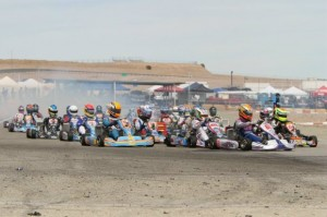 The California ProKart Challenge returns to action May 3-4 after record numbers contested the opening two rounds (Photo: dromophotos.com)