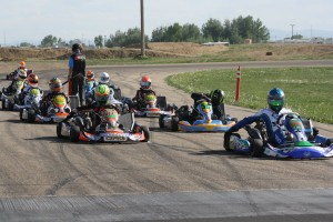 A stacked grid of Stock Moto drivers in the S1 and S2 categories highlighted the third round of the Rocky Mountain ProKart Challenge (Photo: Brooke Miller)
