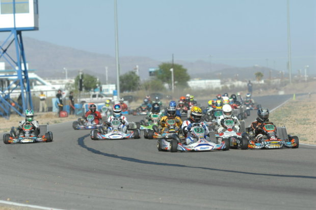 Record field sizes are set to kick off the 2013 SKUSA Pro Tour at the SpringNationals in Arizona (Photo: On Track Promotions - otp.ca)
