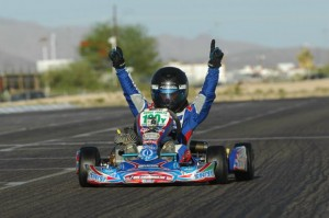 No one could match the pace of Chase Farley in TaG Cadet (Photo: On Track Promotions - otp.ca)