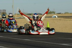 Andrew Zimmer scored victory once again in TaG Senior (Photo: On Track Promotions - otp.ca)