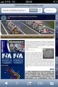 WSK-CIK website