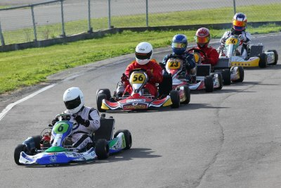 Scott Manson leads the KZ2 class en route to victory (Photo: Fast Company-Leith Robertson)