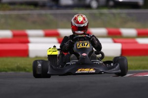 American Gavin Reichelt became the last karter to win an event at Karting Grand-Mère (Photo: PSL Karting)