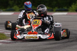 DD2 Masters pilot Dany St-Hilaire scored his second victory in 2013 Coupe du Quebec action (Photo: PSL Karting)