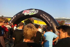 MG Tires was a major supporter of the 2D2W event