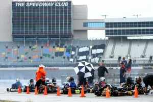 Karts took to the Texas Motor Speedway for 2D2W
