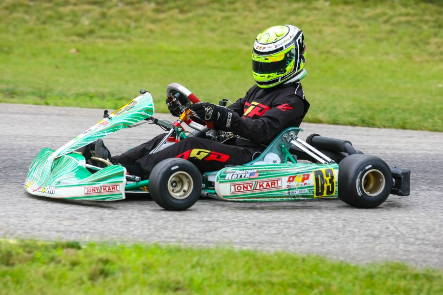 Kotyk drove to four victories at the WKA Manufacturers Cup Series Grand Nationals in South Bend (Photo: NCRM)