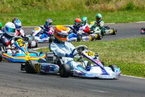 Luke Selliken clinched the Rotax Junior championship with his fifth and sixth victories on the weekend (Photo: Sean Buur - Can-Am Karting Challenge)