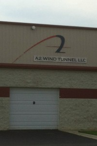 One of the wind tunnels right down the road from the track, maybe we will do some extra aero testing before the race