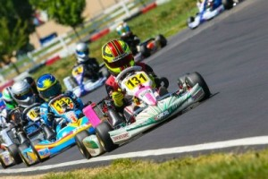 Oregon driver Sting Ray Robb has his sites on the Mini Max title (Photo: Sean Buur - Can-Am Karting Challenge)