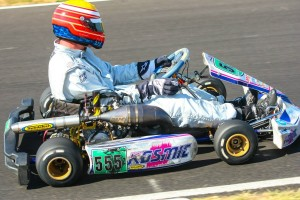 S4 Master Stock Moto driver Bruce McKean piloted his RPG entry to his first victory of the season (Photo: Sean Buur - Can-Am Karting Challenge)