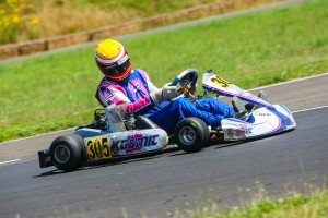 Parker McKean drove to victory in only his second Rotax Senior Can-Am start of the season (Photo: Sean Buur - Can-Am Karting Challenge)
