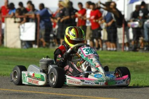 Sting Ray Robb drove to the runner-up finish in TaG Junior in round four action (Photo: On Track Promotions - otp.ca)