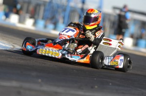 Austin Versteeg is the current point leader in TaG Junior (Photo: On Track Promotions - otp.ca)