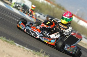 Defending champ Fritz Leesmann will look to extend his point lead in Grand Junction (Photo: On Track Promotions - otp.ca)